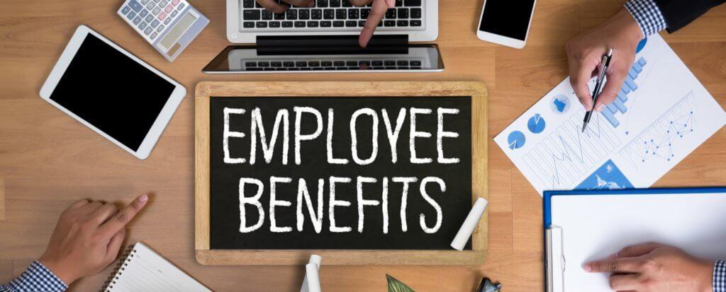 Employee Benefits text